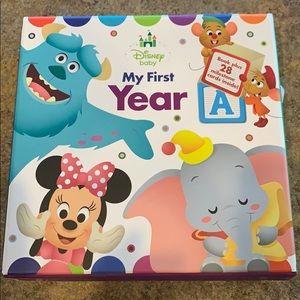 My first year Disney milestones
